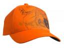 Pomarańczowa czapka z daszkiem Husqvarna Xplorer