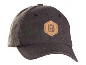 Granitowoszara czapka z daszkiem Husqvarna Xplorer